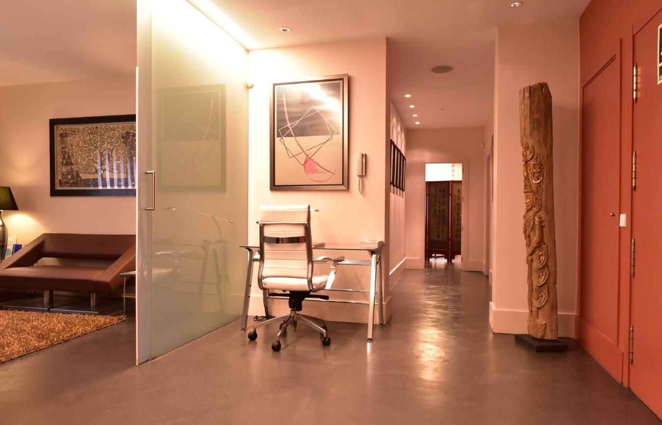 Hall · Consulta · Centro de Cirugía Estética en Madrid. Dr Juan Monreal