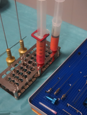 dr monreal Instrumental de lipoimplante