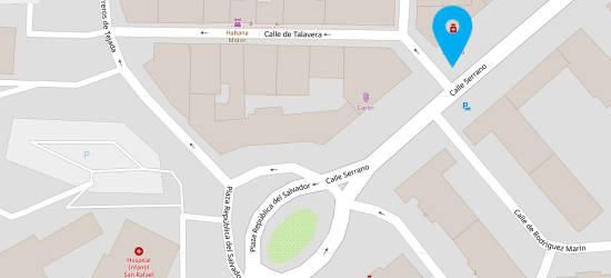 Mapa Consulta En Madrid Dr Juan Monr
