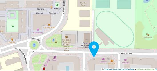 Mapa Consulta En Torrejón de Ardoz Dr Juan Monreal